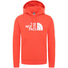 The North Face Drew Peak Pullover Capuchon Trui Heren, flare/TNF white